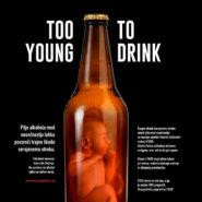 Alkohol med nosečnostjo lahko na otroku pusti trajne posledice