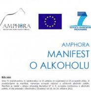 Amphora Manifest – Zaradi alkohola vsako leto v EU umre vsaj 120.000 ljudi