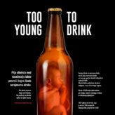 Če pije nosečnica, pije tudi še nerojeni otrok